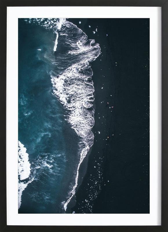Diamond Beach 2 ingelijste print