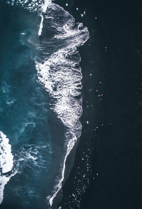 Diamond Beach 2 Impression sur alu-Dibond