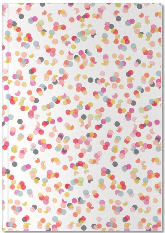Confetti Mix Pink Notebook