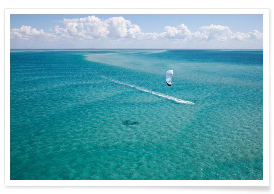 Kiteboarding Mozambique -Poster