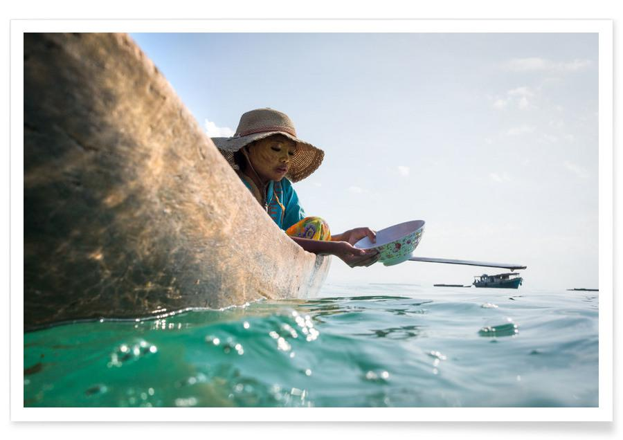 Sea Gypsy 1 Hat -Poster