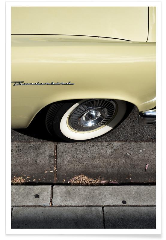 Thunderbird-Gelb-Fotografie -Poster