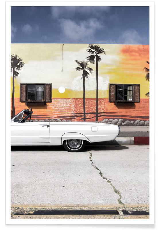 Foto van Ford Thunderbird poster