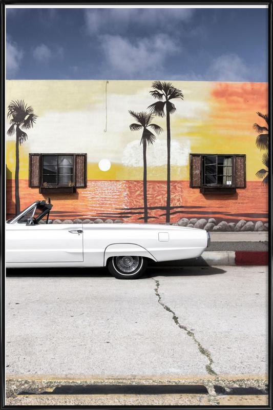Ford Thunderbird ingelijste poster