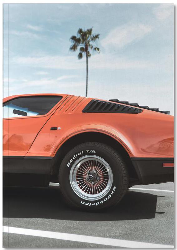1975 Orange Notebook