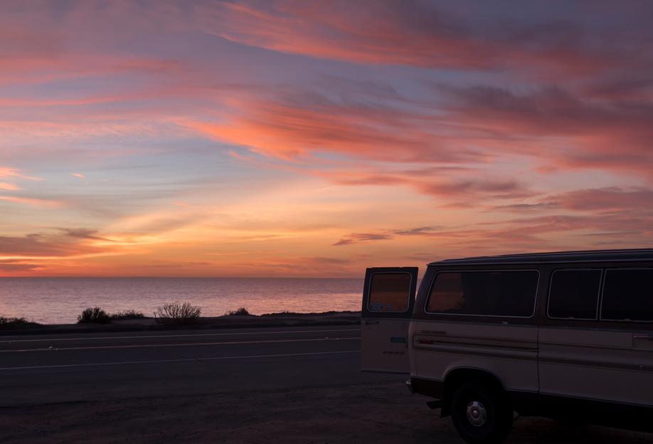 Cali Sunset -Acrylglasbild