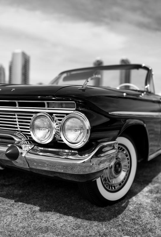 San Diego Impala -Acrylglasbild