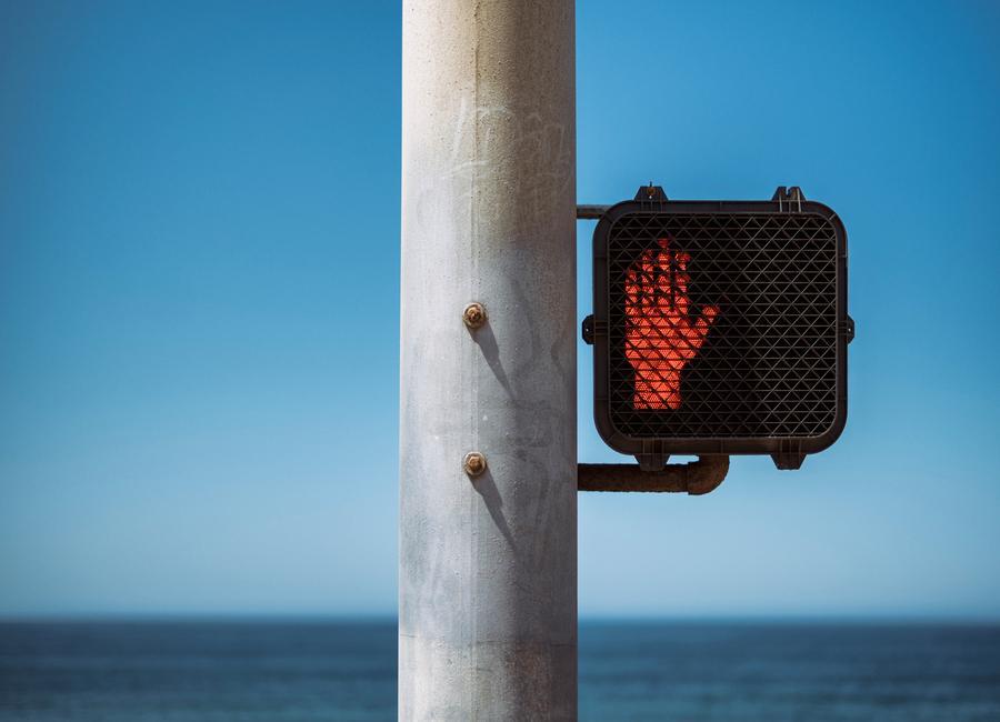 Don't Stop! -Leinwandbild