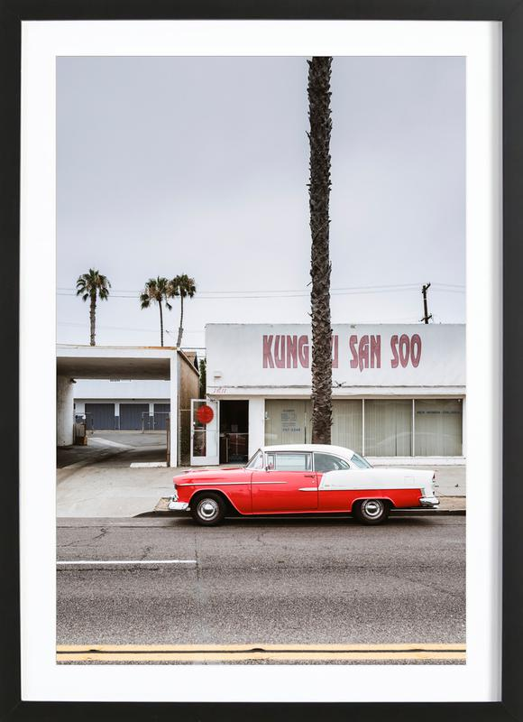 Kung Fu Bel Air Framed Print
