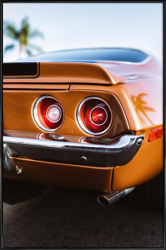 LA Camaro ingelijste poster