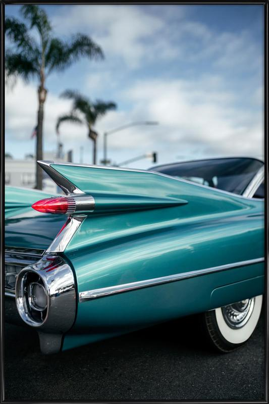 Cadillac Queen Framed Poster