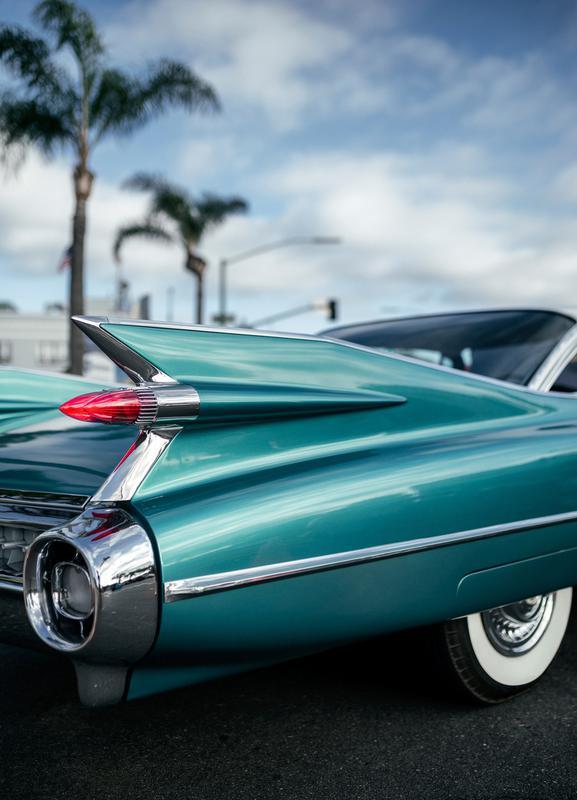 Cadillac Queen Canvas Print