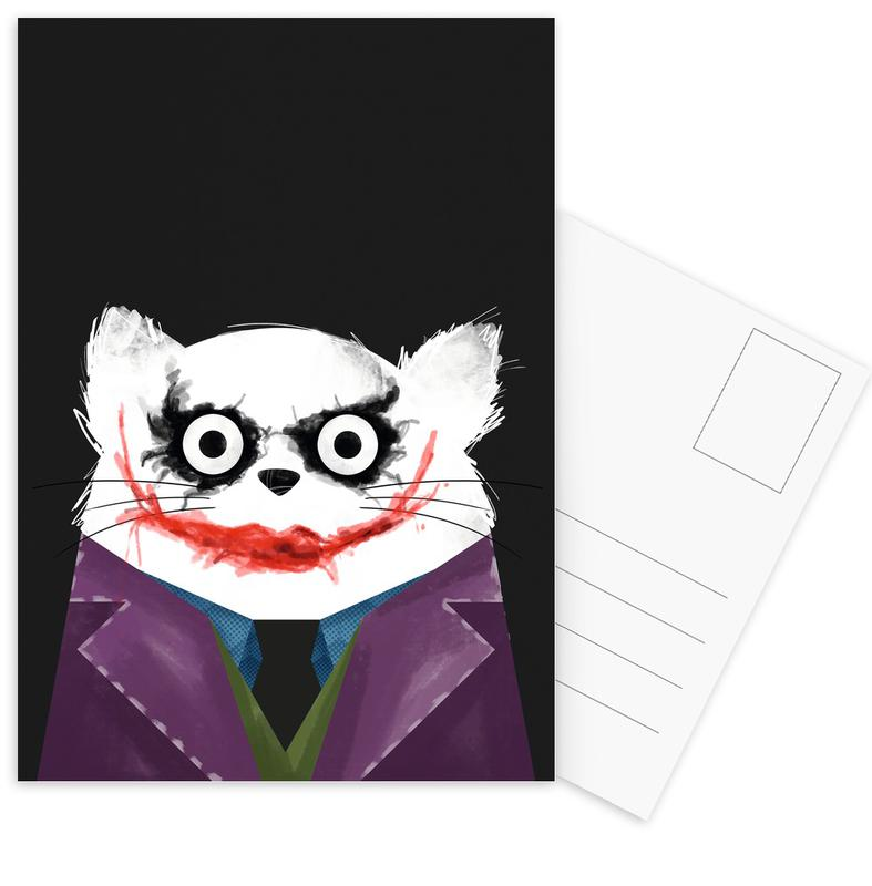 Cat - Joker Postcard Set