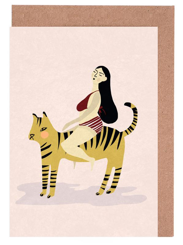 On Your Tiger Greeting Card Set