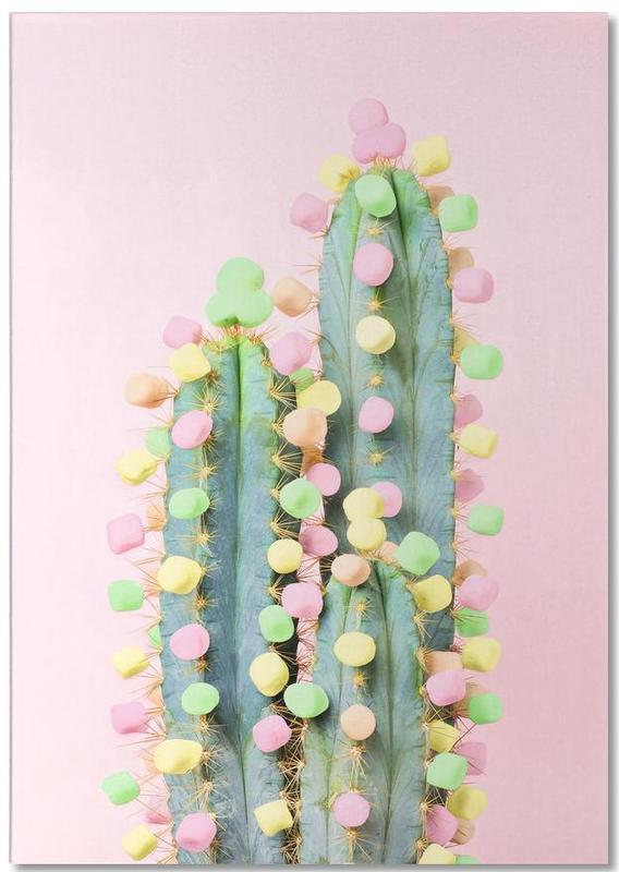 Marshmallow Cactus in Bloom -Notizblock