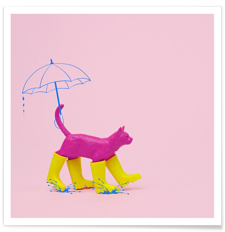 Puss in [Rain] Boots Poster
