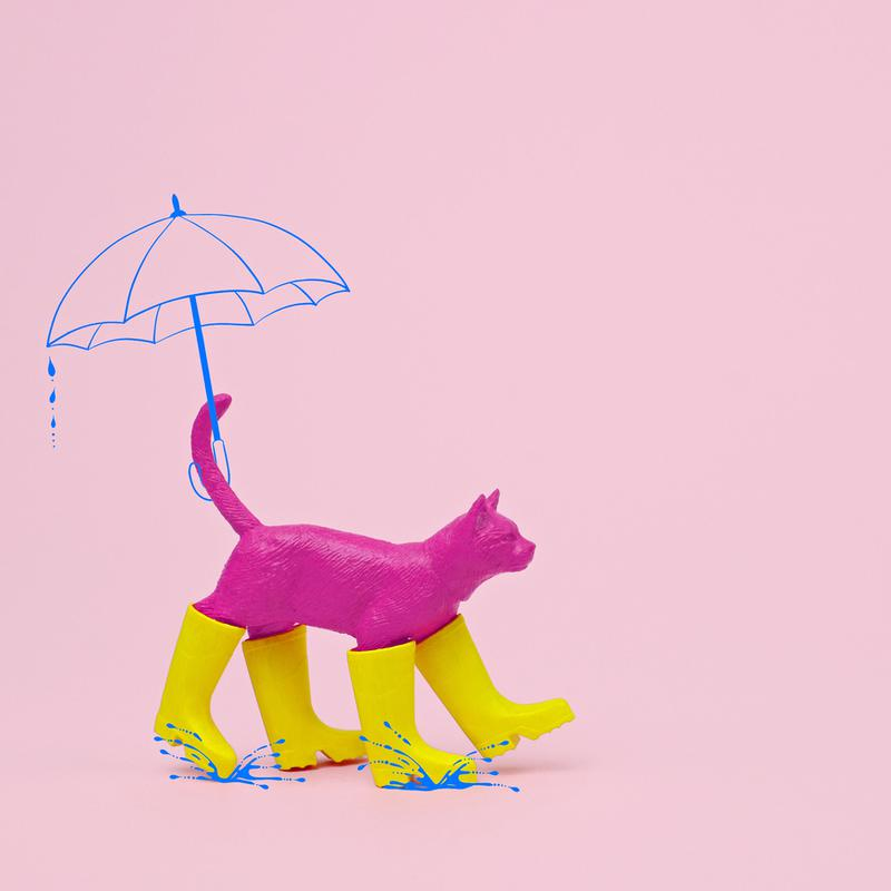Puss in [Rain] Boots Canvas Print