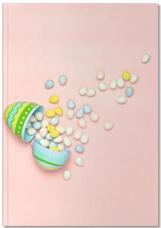 Easter Egg Spill Notebook