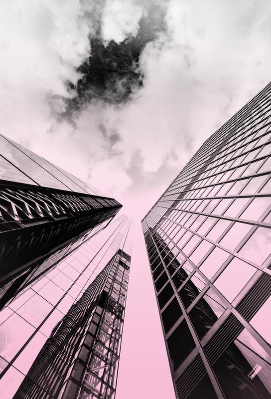 Skyscraper Aluminium Print