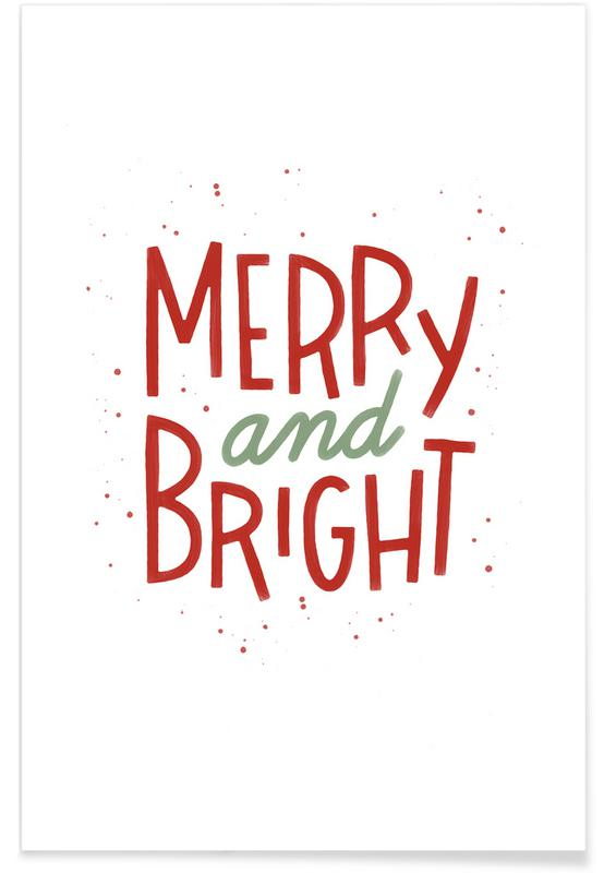 Merry And Bright -Poster