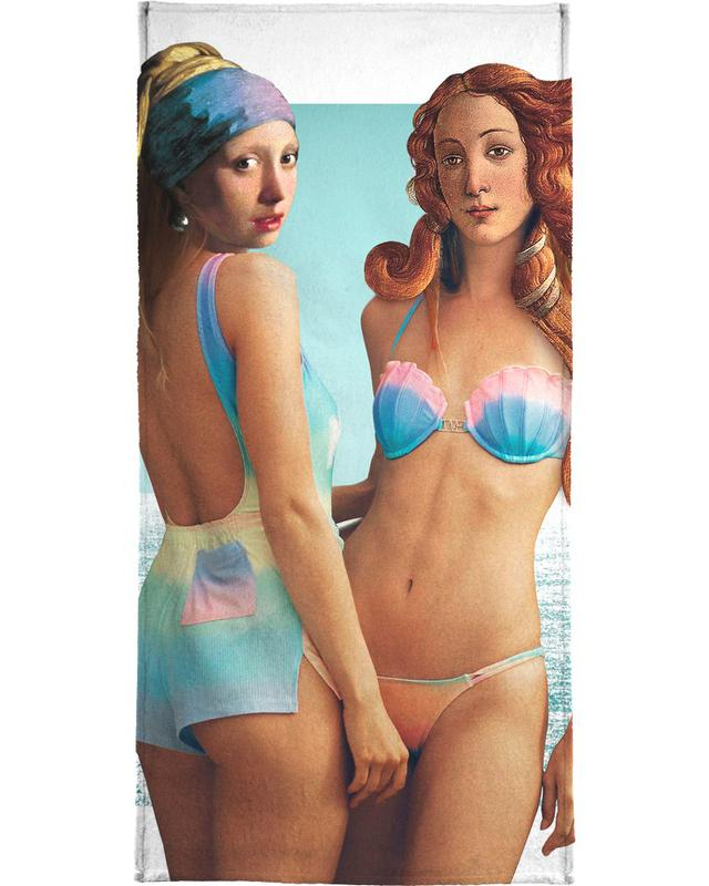 Beach Girls -Strandtuch