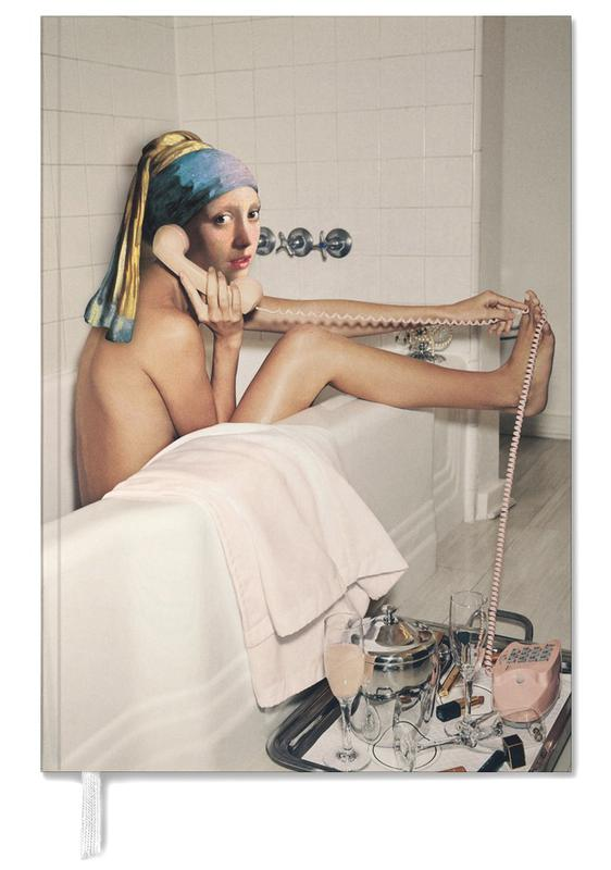 Girl with Pearl Earring Bath time Personal Planner
