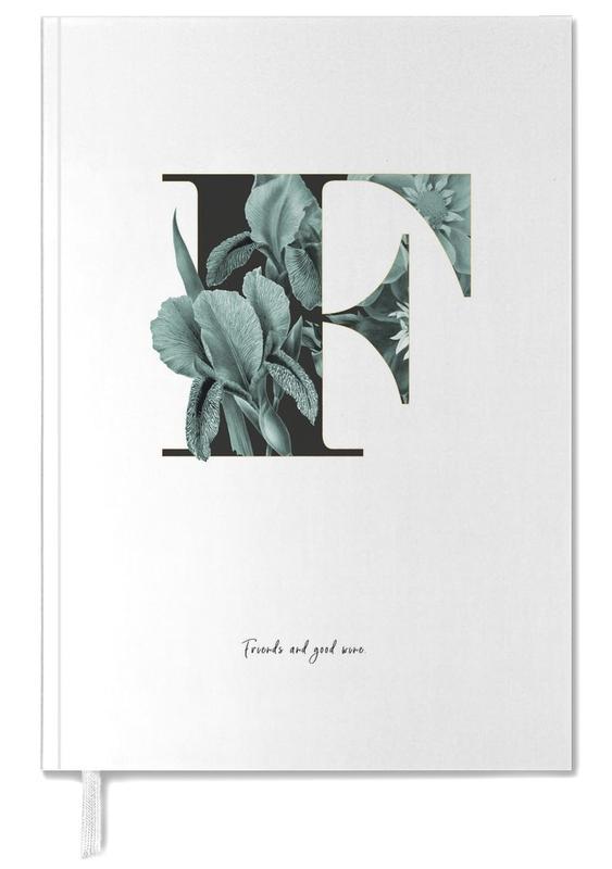 Flower Alphabet - F -Terminplaner