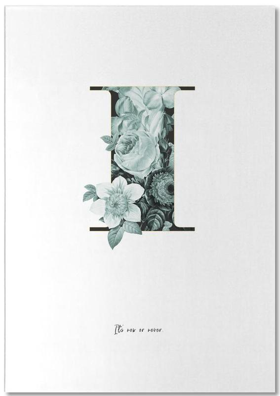 Flower Alphabet - I bloc-notes