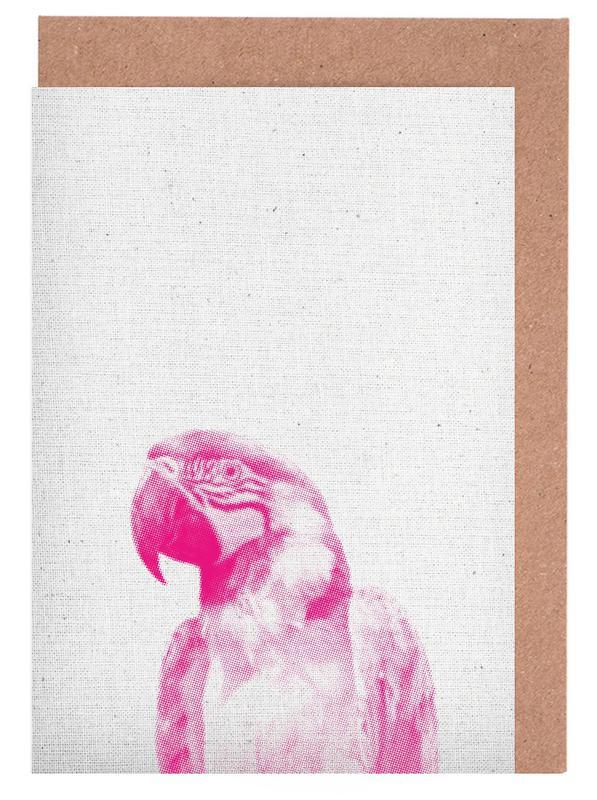 Papagei 02 Greeting Card Set