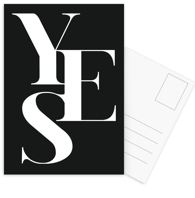 Yes 1 Postcard Set