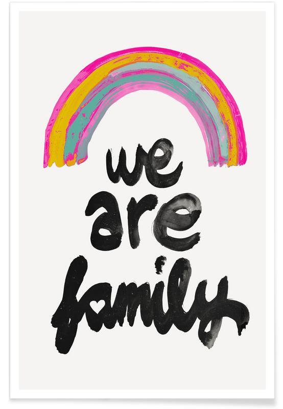 We Are Family Plakat