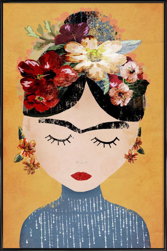 Frida ingelijste poster
