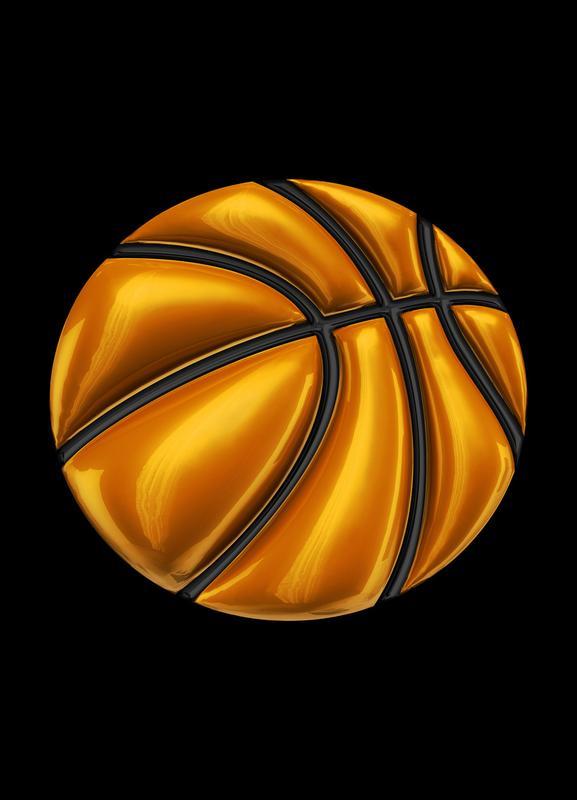 Basketball -Leinwandbild