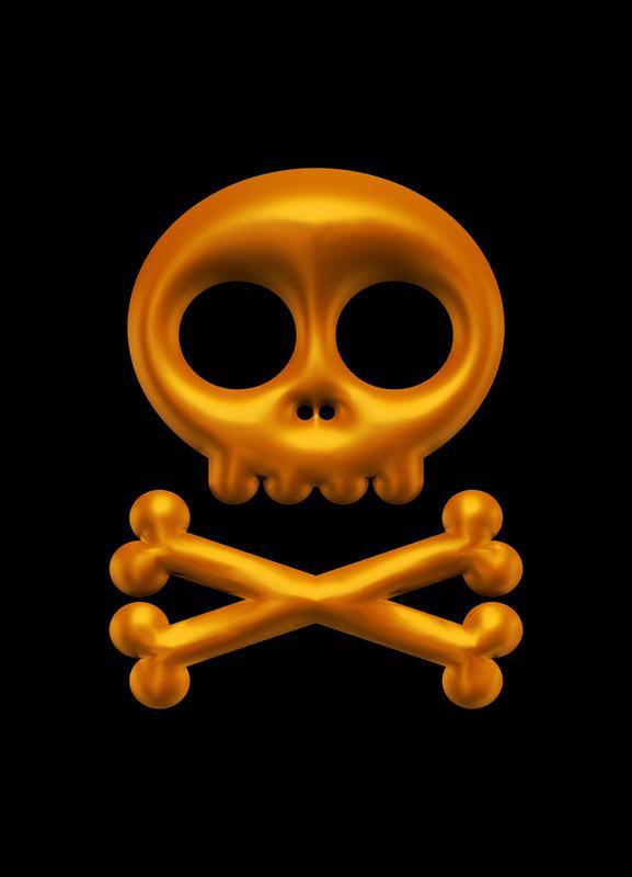 Skull toile