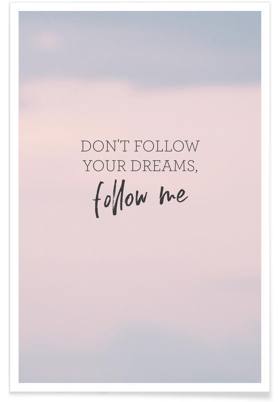 #Follow affiche