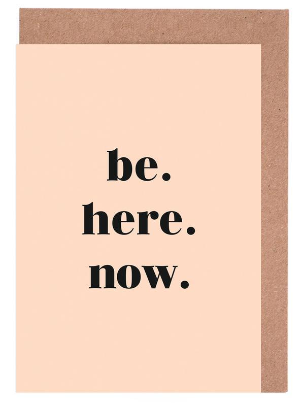 Be Here Now cartes de vœux