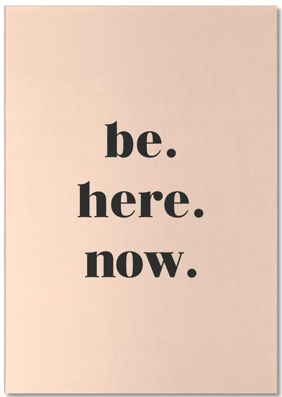 Be Here Now bloc-notes