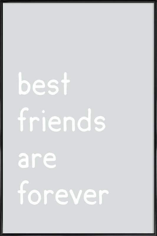 Friendship affiche encadrée