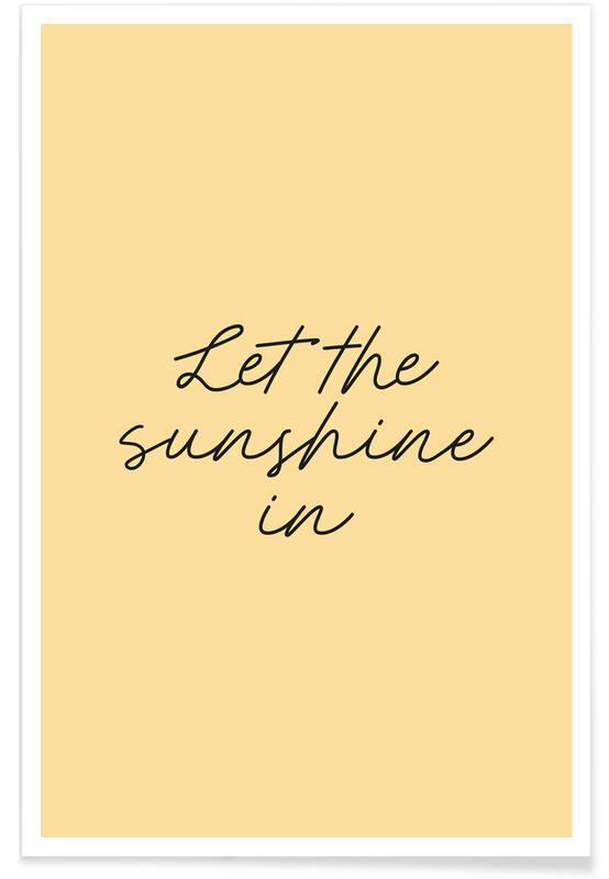 Let The Sunshine In -Poster