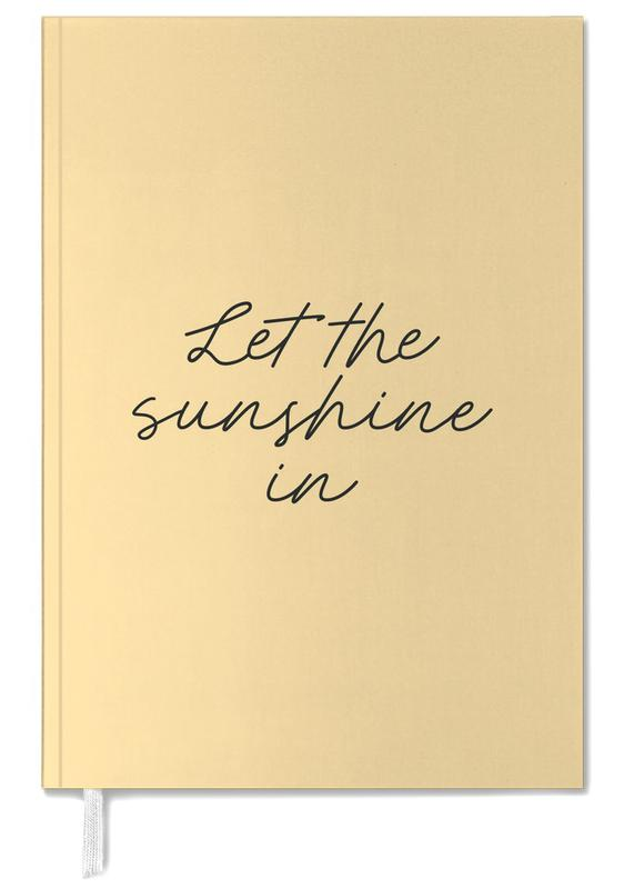 Let The Sunshine In Personal Planner