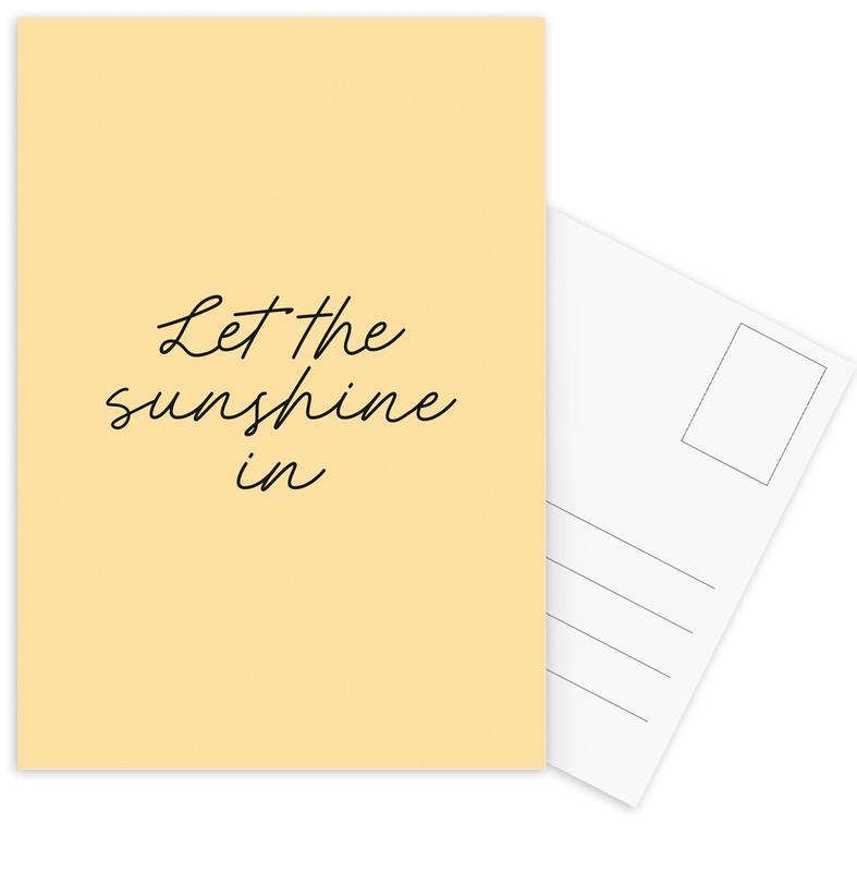 Let The Sunshine In cartes postales