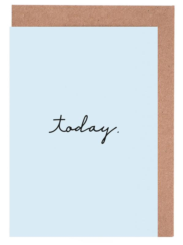 Today Greeting Card Set