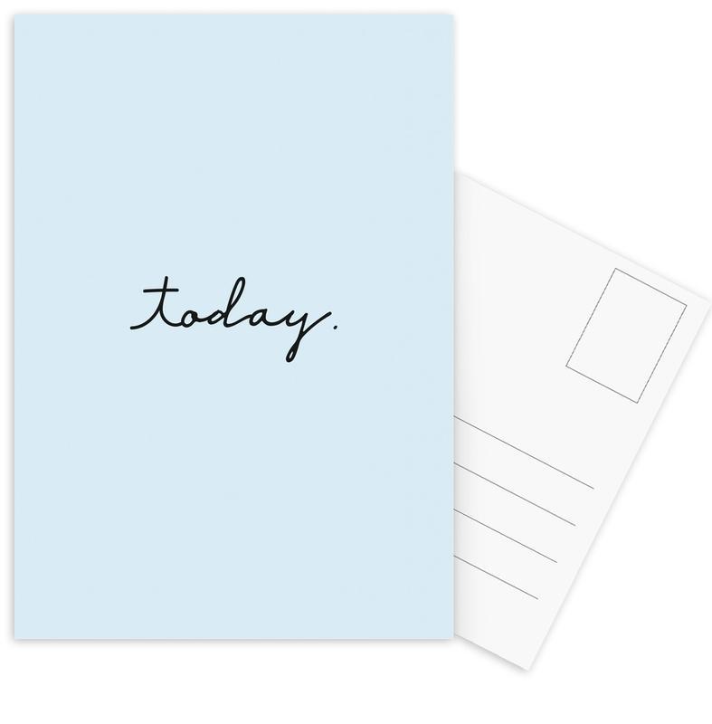 Today Postcard Set
