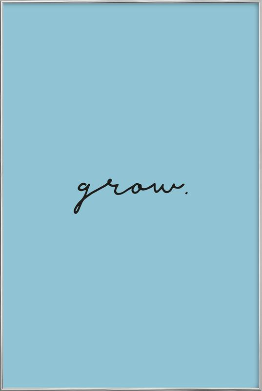 Grow Poster in Aluminium Frame