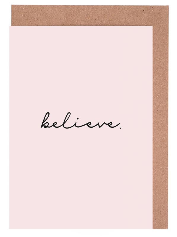 Believe Greeting Card Set