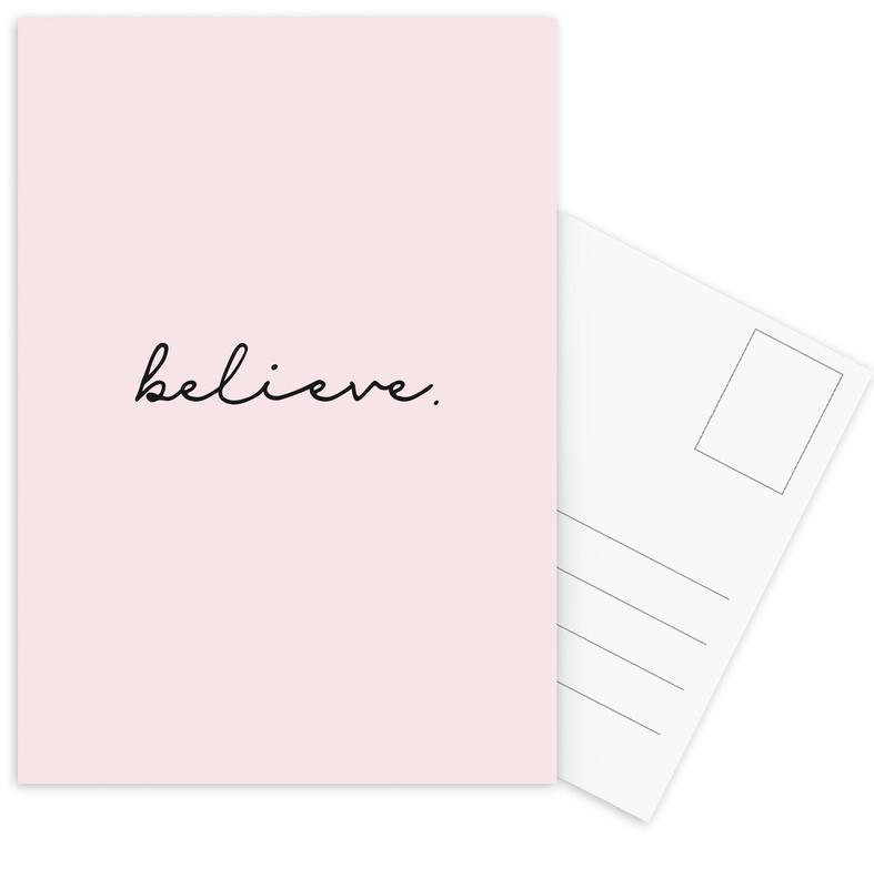 Believe Postcard Set