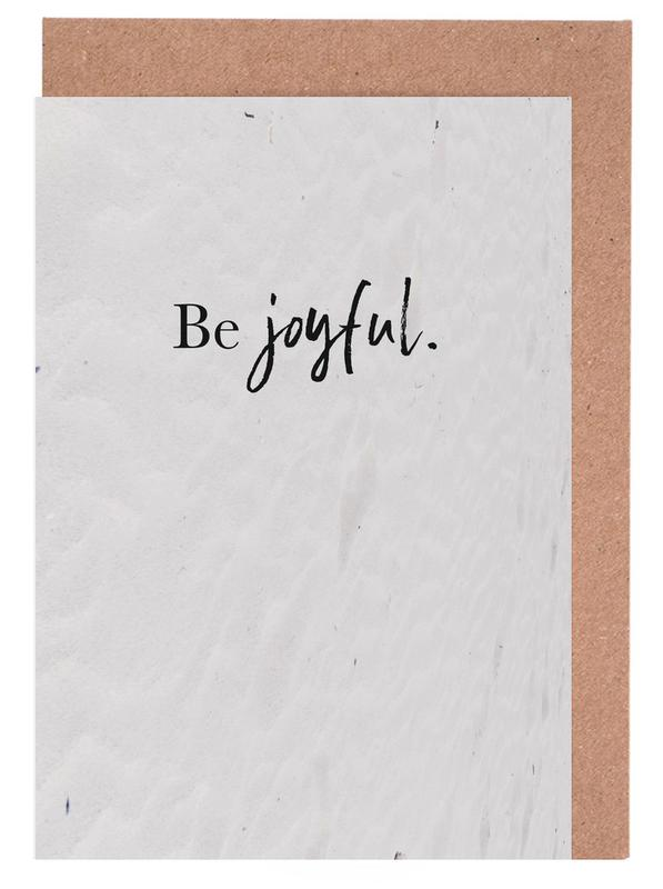 Be Joyful cartes de vœux