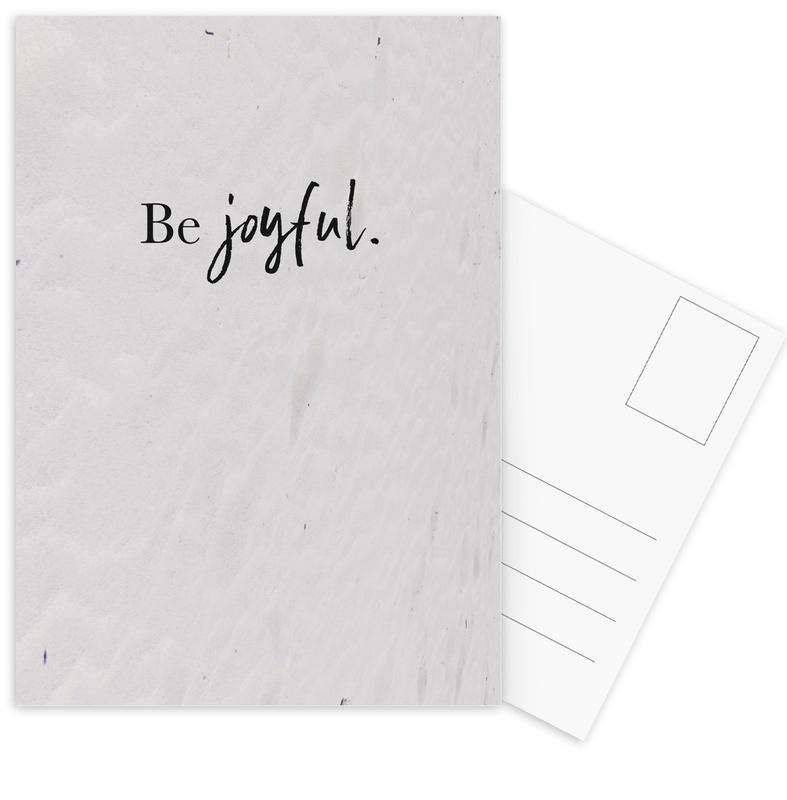 Be Joyful Postcard Set