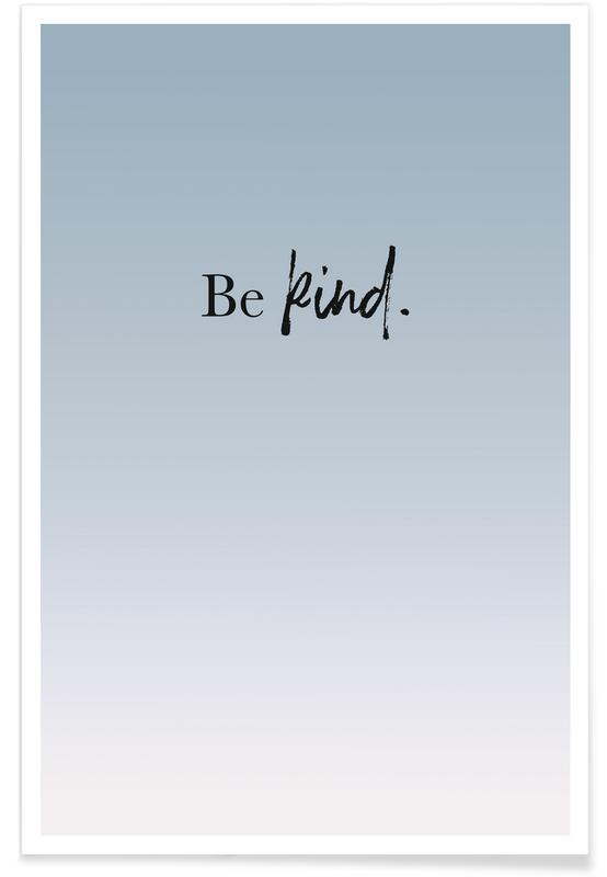 Be Kind affiche