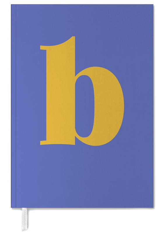 Blue Letter B Personal Planner